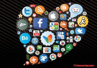 social media black